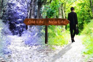 分岐点 Old Life New Life